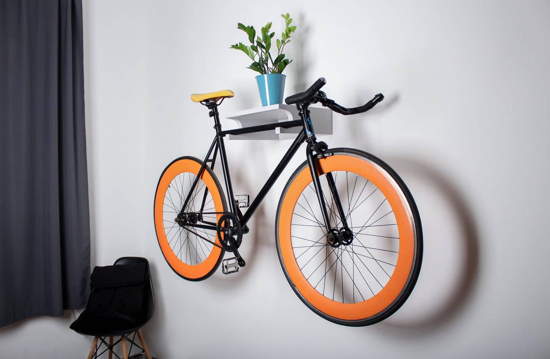 Berlin Wall bike rack / bike holder / wall stand for bike
