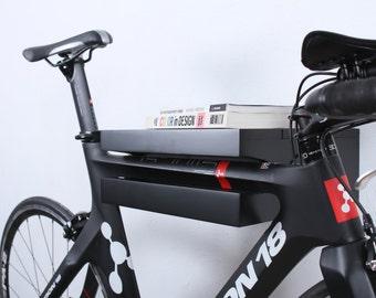 Amsterdam - Wooden bike rack / bike holder / bike stand/ Black