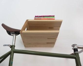 Brooklyn bike and boar rack / any bike storage solution / wooden bike wall mount / cyclist gift