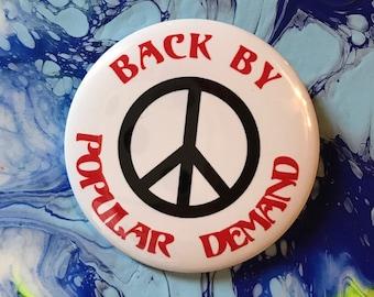 Bring Back Peace pin