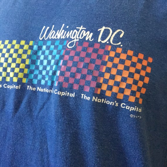 Vintage Washington DC T-shirt - Washington DC Tou… - image 2