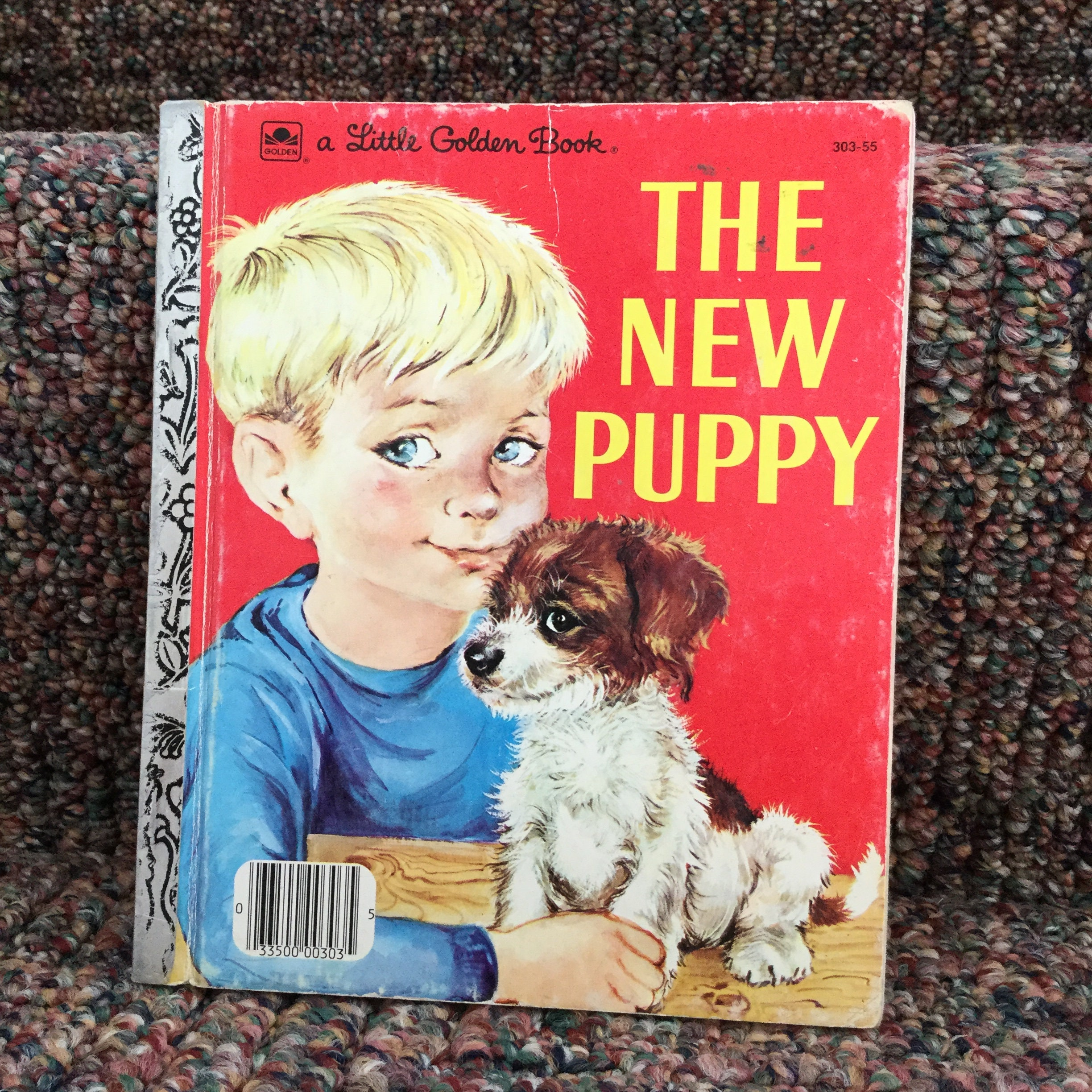 The New Puppy Book - Little Golden Books New Puppy - 1969 - Racine, WI -  Learn to Care for a New Puppy - Puppy Book - Dog Book for Kids