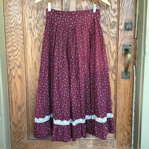 Vintage Gunnie Skirt - Vintage Jessica's Gunnies S