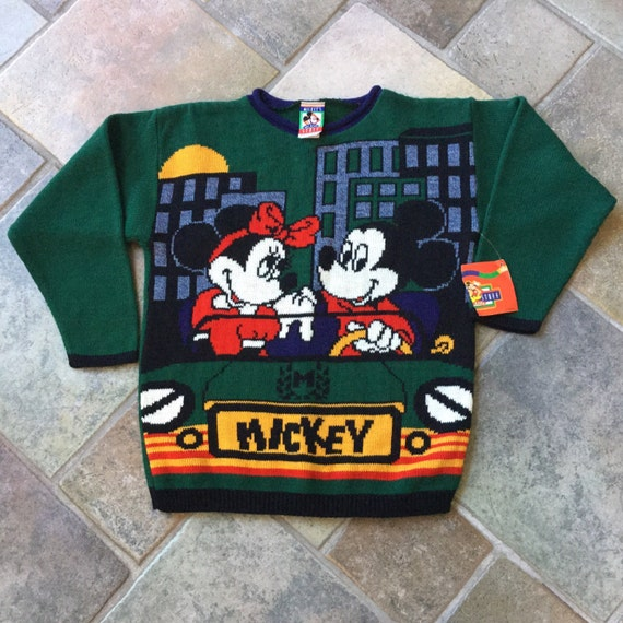 Deadstock Mickey Mouse Sweater - Mickey and Minnie