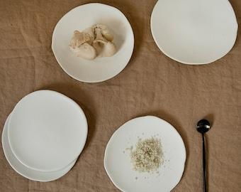 Serving Plate, Plate Set,  Cake plate, Dessert Plate, Pottery Plate, Dessert Plate Set, Housewarming Gifts