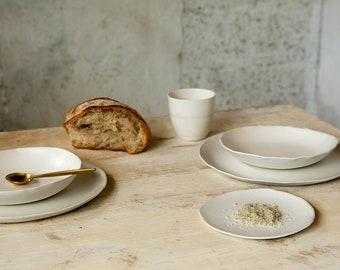 Ceramic Dinnerware set for 2 2 Piece Place Setting,