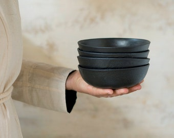 Black Ceramic Bowl, Small ceramic bowl