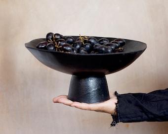 ceramic Footed Bowl, ceramic pedestal bowl, Ceramic Footed Bowl Ceramic Fruit Bowl Pottery