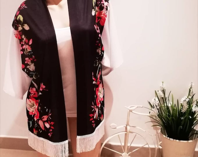 Featured listing image: Kimono, Women's clothing, Handmade clothes, Wedding coats, springtime, coats, clothes