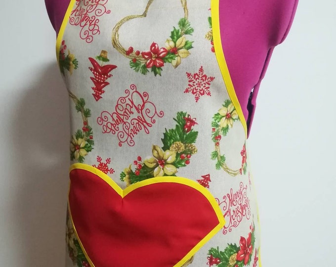 Apron, aprons, custom apron, Christmas, Gifts, Home and Leaving, personalized Apron, Christmas apron