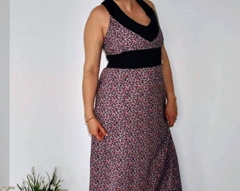 Dress, Women dress, Cotton dress, Handmade clothes, Long Dress
