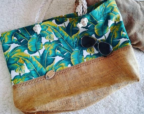 Beach bag, woven bag, custom bag, bags, Handbags, Women's bags, Summer Time, eco bag, eco-friendly
