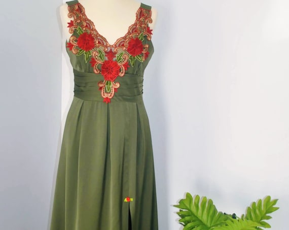 Party dress, Special occasion Dress, Prom Dress, Long dress, Dress, Green Dress, Wedding dress, Handmade dress