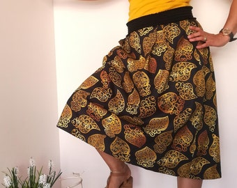 Skirt Heart of Viana, traditional skirt, Womens clothes, skirt with males, skirts, filigree