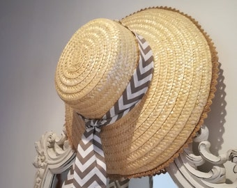 Beach hat, straw hat, hats, beach hat, Portuguese crafts, Sun hats, straw hat, traditional hat