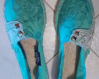 Women's Espadrilles & wedges, sandals, Espadrilles, espadrilles, Handmade, women's shoes, women's Slip Ons, Custom Espadrilles, Alpergatas
