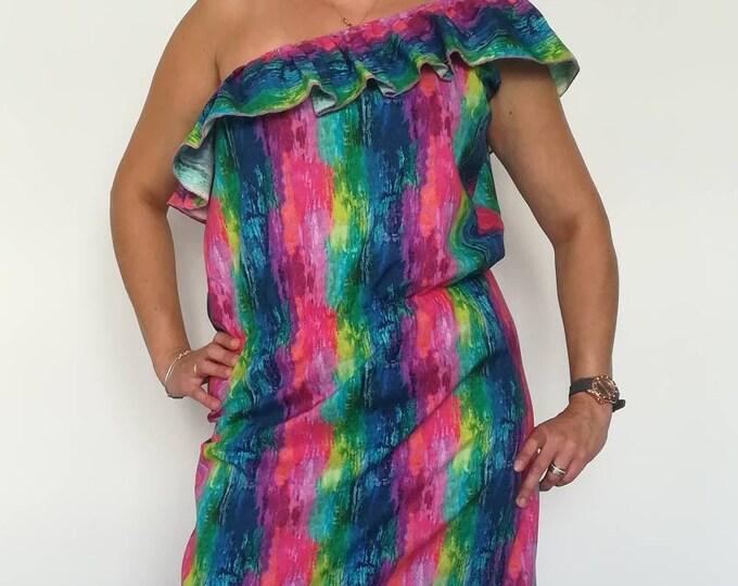Long dress 100% cotton, Women's clothing, Long dress, cotton dress, Boho Style