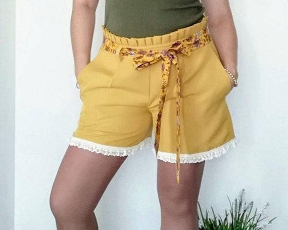 Shorts, Womens Cloting, Clothing, Women Shorts, Summer Shorts, Handmade Shorts, Women's Shorts & Skorts
