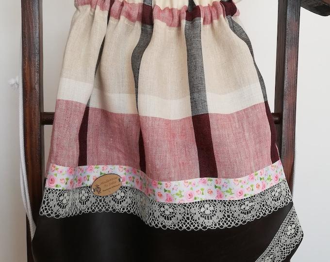 Tie bag, fabric backpack, linen backpack, Bags, Handmade Bags, Beach Bag, Gym Bag, shoulder bag, backpack, multipurpose bag, cloth bag