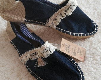 Women's Espadrilles & Wedges, Handmade shoes, Espadrilles, Alpercatas, moccasins, Sandals, women's shoes, women's Slip Ons, Custom Espadrilles