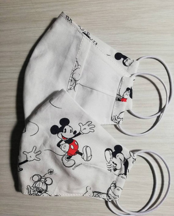 Mickey fabric mask, Washable mask