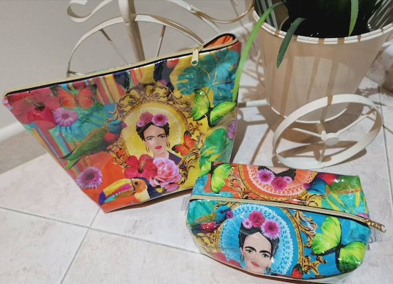 Frida Kahlo Waterproof Bag, Necessaire, Multipurpose Bag, Beach Bag, Handbag, Fanny Pack, Makeup Case, Handbag, Frida lover