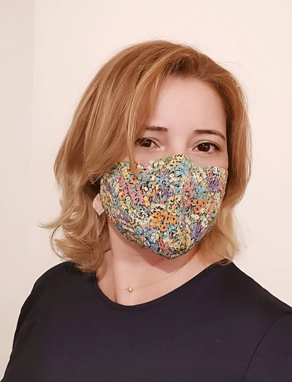 Forest Model Mask, Washable mask, Reusable face mask, Cotton mask, Travel mask, Anti Dust mask, Stoffmaske, Fabric Facemask