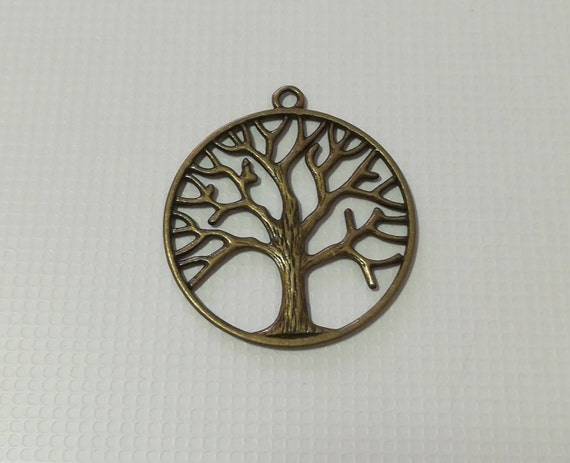Jewelry materials, pendant tree of life, pendants, jewelry, crafts, Bronze, jewelry Making & Beading