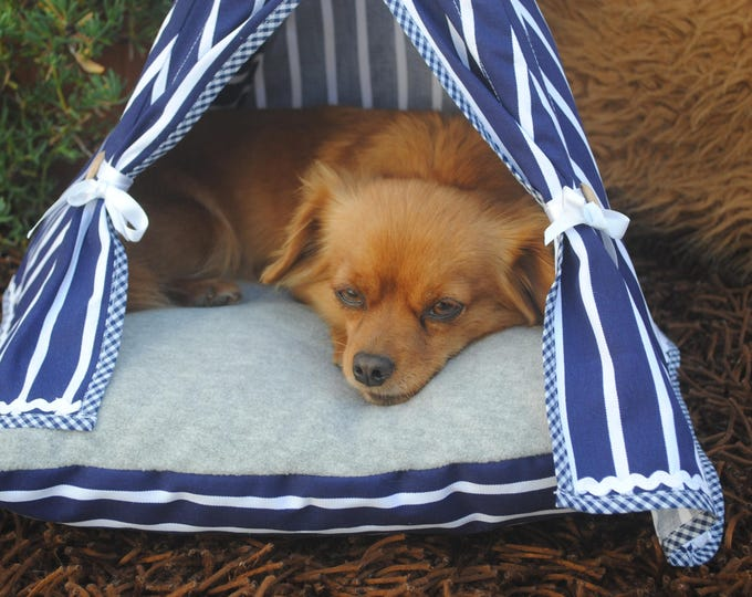 Cat Teepee, Dog Teepee, Cat Cave, pet supplies, cat bed, pet Furniture, Kitten bed, Pets, pet Bedding, pet House, Teepee, Cat Tent, pet Teepee