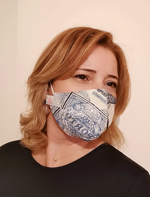 Fado Model Mask, Washable mask, Reusable face mask, Cotton mask, Travel mask, Anti Dust mask, Stoffmaske, Fabric Facemask