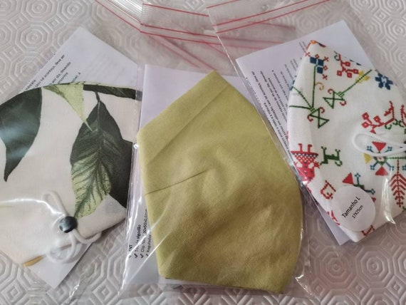 Lemon Masks Kit, Stock Off, Washable Masks, Promotion Masks, Kit Masks, Face Masks, Travel Masks, Stoffmaske, Fabric Facemask,Sales,Packs