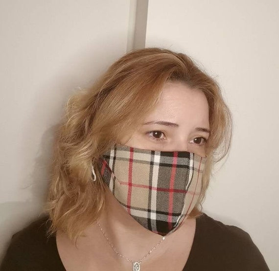 Checkermask, Washable mask,Reusable face mask,Cotton mask,Travel mask,Anti Dust mask, Stoffmaske,Fabric Facemask, Social Masks