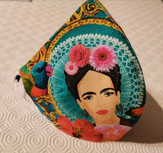 Máscara Modelo Frida Tropical Frida face mask, Reusable face mask, Travel mask, Anti Dust mask, Frida mask, Frida lovers, Stoffmaske, Maskes