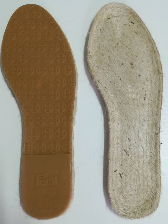 Soles, espadrilles soles, handicrafts, alpercatas, moccasins, soles for shoes, soles for alpercatas, rope soles