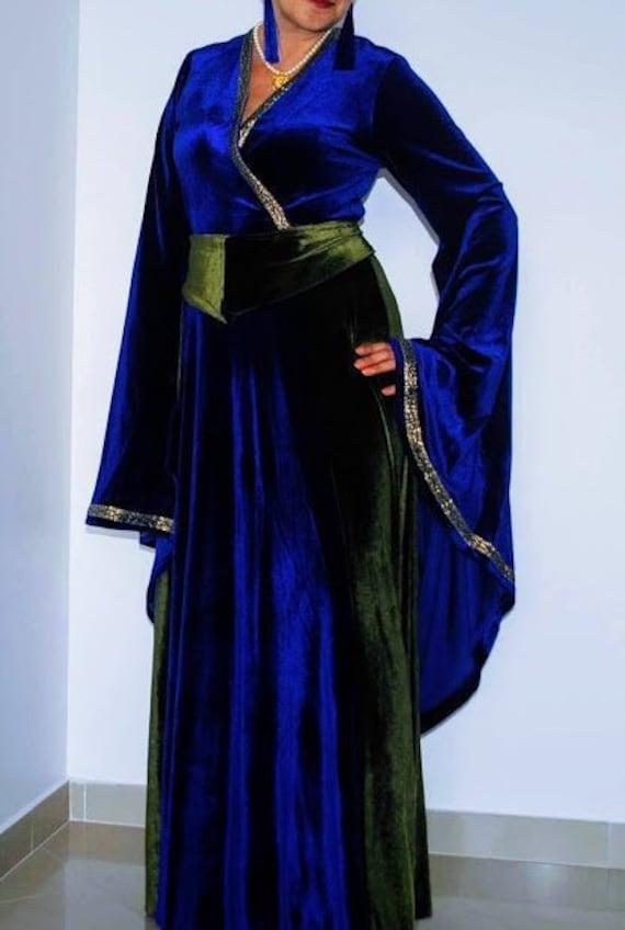 Medieval dress Costumes Elven dress Women medieval dress | Etsy