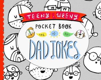 Father's Day Zine - Teeny Weeny Pocket Book of Dad Jokes