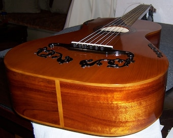 Early romantic guitar- 19th century guitar- Made to order