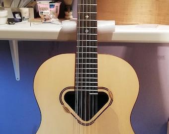 Baritone Grand Jumbo 12-string guitar (made to order)
