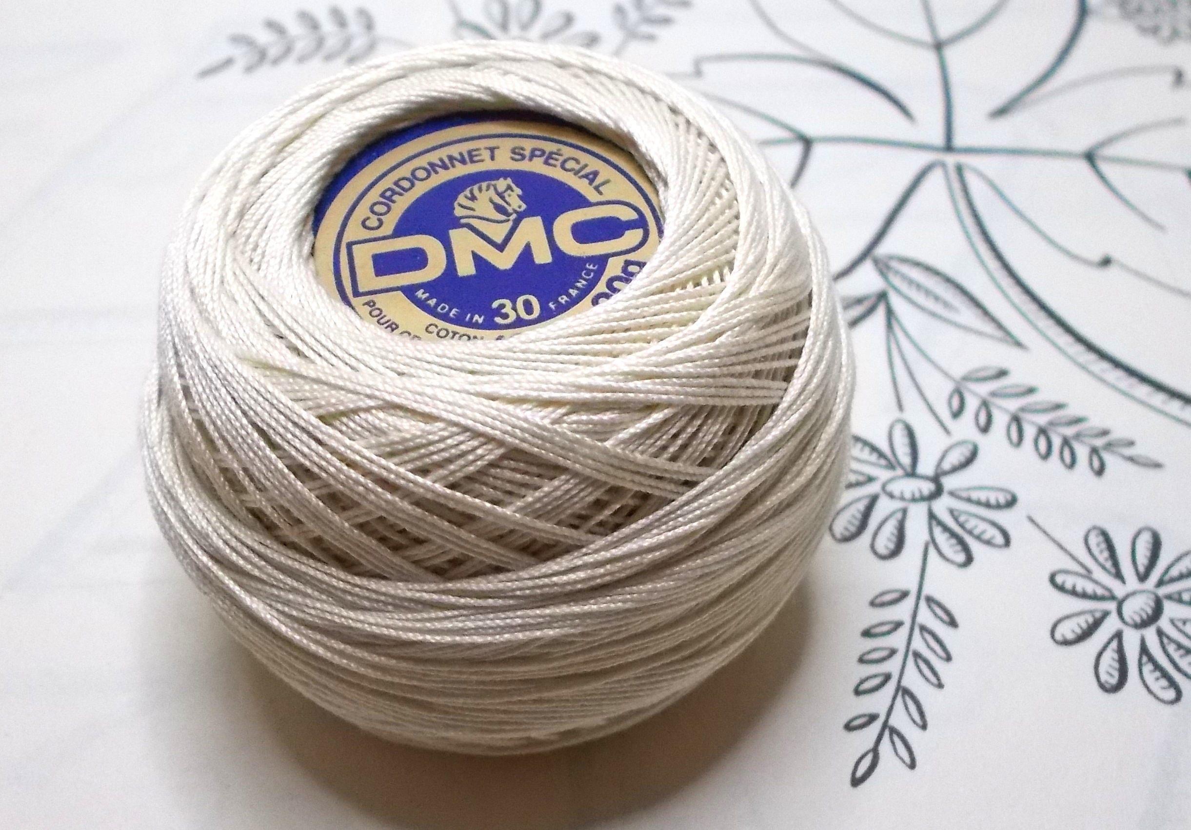 Dmc Embroidery Or Crochet Thread In Ecru Naturel Cordonnet Etsy