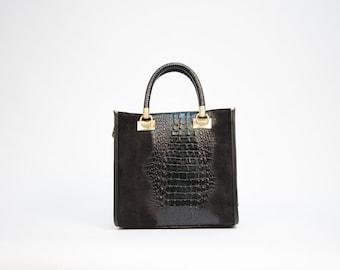 d701b1d401 Croco embossed bag