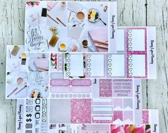 Blogger Life Weekly Kit/A La Carte - EC Vertical/EC Horizontal/Happy Planner
