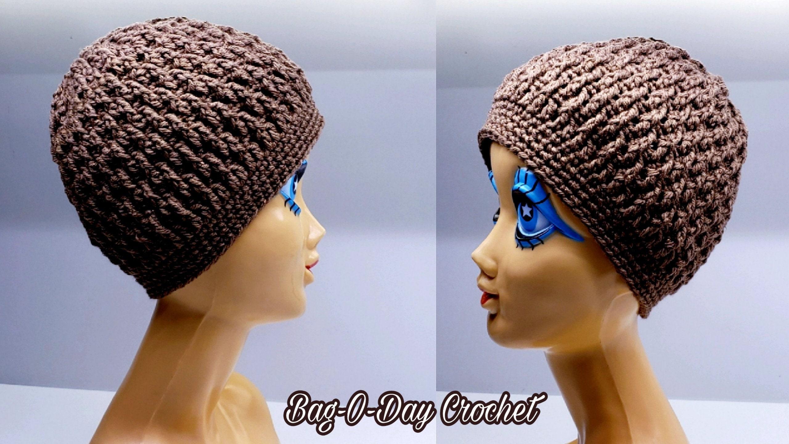 Crochet Beanie Hat Crochet Pattern Coffee Beanie Etsy