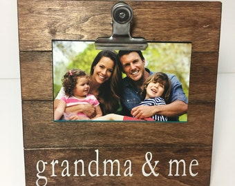 Grandma And Me Frame Etsy