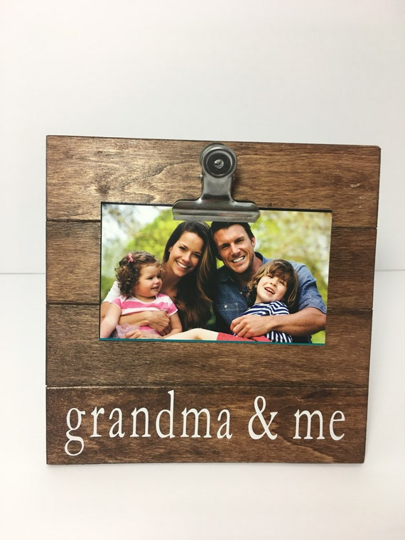 Grandma And Me Picture Frame Clip Picture Frame Grammy And Etsy