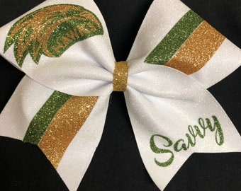 e323b709be00 Eagles Glitter Cheer Bow Personalized with Eagles Mascot, Name and Glitter  Colors of your Choice made by BOWSandBALLERS