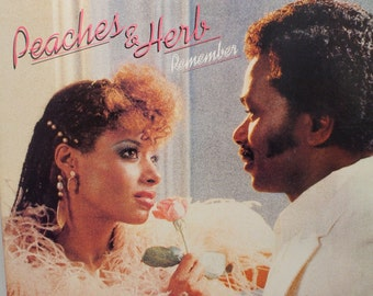 "Peaches & Herb - ""Remember"" vinyl"