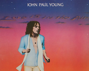 "John Paul Young - ""Love Is In the Air"" vinyl"