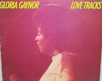 "Gloria Gaynor - ""Love Tracks"" vinyl"