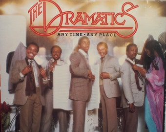 "The Dramatics - ""Anytime, Anyplace"" vinyl"