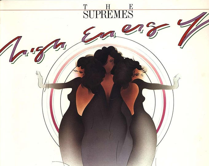 "Featured listing image: The Supremes - ""High Energy"" vinyl (2nd copy)"